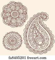 Free Henna Design Art Prints And Wall Artwork Freeart