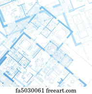 Free art print of architecture blueprint of a house vector art print horizontal blueprint vector malvernweather Choice Image