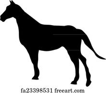 Free art print of Free horse. Summer in the mountains you ...