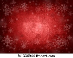 ice red christmas background - Red Christmas Background