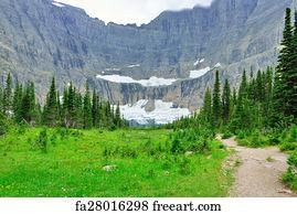 Free Iceberg Lake Trail Art Prints and Wall Artwork | FreeArt