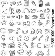 Free Doodle Art Prints and Wall Artwork | FreeArt