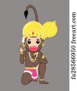 Free Hanuman Chalisa Art Prints and Wall Artwork | FreeArt