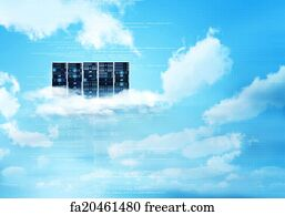 Free Cloud Server Art Prints and Wall Artwork | FreeArt