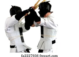 free art print of karate fight kumite karate fight kumite
