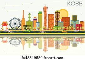 fbec92720d7b Free art print of Kobe Hyogo in the greater Osaka area. Kobe Hyogo ...