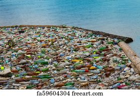 Free Plastic Bags Pollution Art Prints and Wall Artwork