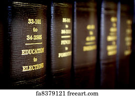 free art print of law books close up of several volumes of law