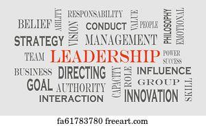 Free Leadership Word Art Prints and Wall Artwork   FreeArt