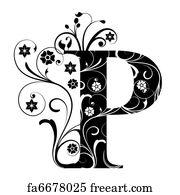 Letter Art Print.Free Art Print Of Letter Capital N
