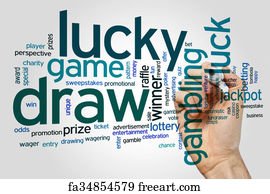 Free Lucky Draw Art Prints and Wall Artwork | FreeArt