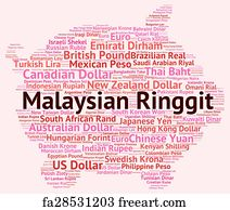 Free Malaysian Ringgit Art Prints and Wall Artwork   FreeArt