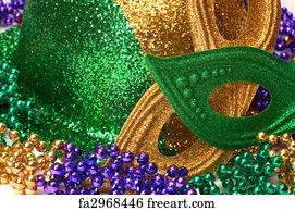 Free Mardi Gras Background Art Prints and Wall Art | FreeArt
