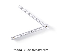 image regarding Printable Meter Stick referred to as Absolutely free Folding Meter Adhere Artwork Prints and Wall Art FreeArt