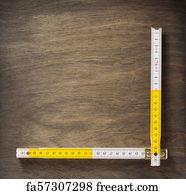 photograph regarding Printable Meter Stick named Absolutely free Folding Meter Adhere Artwork Prints and Wall Art FreeArt
