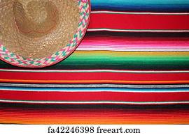Free Art Print Of Cinco De Mayo Mexico Fiesta Background