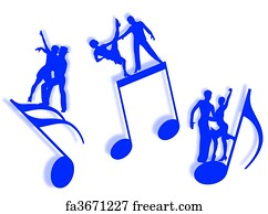 Free Dance Music Art Prints and Wall Artwork | FreeArt
