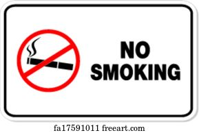 photo about Printable No Smoking Signs called Cost-free artwork print of Smoking cigarettes kills
