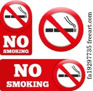 picture regarding Printable No Smoking Signs named Totally free artwork print of No using tobacco and Cigarette smoking regional labels - Preset 9