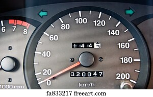 Free Odometer Art Prints and Wall Artwork | FreeArt