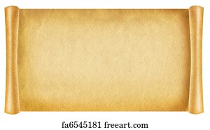 free art print of old paper texture.antique background scroll for, Powerpoint templates
