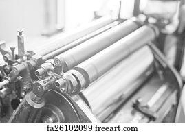 Free Printing Press Art Prints and Wall Artwork   FreeArt