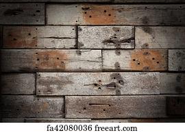 Free Wooden Bricks Art Prints and Wall Artwork   FreeArt