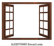 Free Art Print Of White Door Oddly Shaped Double Door On