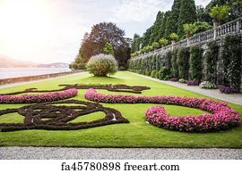 Free French Formal Garden Art Prints And Wall Artwork | FreeArt