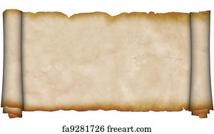 free art print of medieval parchment scroll medieval scroll of