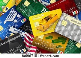free credit card logos art prints and wall art freeart
