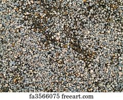 pea gravel playground play area art print playground pea gravel with some wet and dry free art print of with and