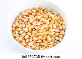 Unpopped Popcorn Kernel Clipart Free Unpopped A...