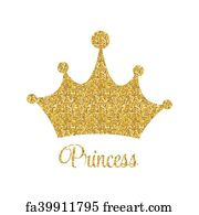 photo regarding Printable Princess Crown named Absolutely free artwork print of Princess History with Crown Vector Example