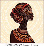 PDF File Black Women Embroidery African Art Decor Cross Stitch Pattern African Decor African Art Print African Wall Art