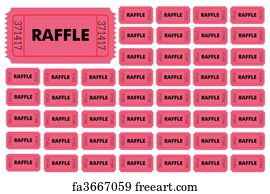 printed raffle tickets cheap