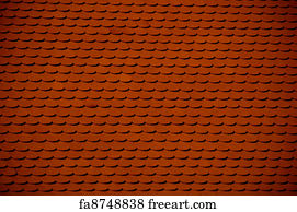 Free Red Clay Tile Roof Art Prints and Wall Artwork | FreeArt