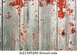 Free Art Print Of Red Rustic Barn Wood Background