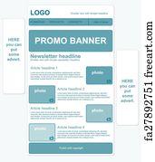 free newsletter template art prints and wall artwork freeart