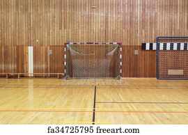 Bon Retro Indoor Soccer Goal