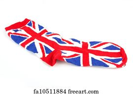 Free art print of Knitted Wool Hat with Union Jack Flag Isolated On ... 13273723cd96