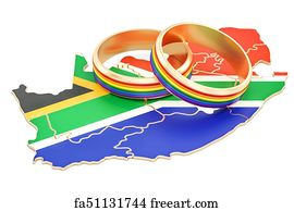 Free South Africa Map Art Prints and Wall Art FreeArt