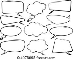 photograph regarding Printable Speech Bubbles referred to as No cost Speech Bubbles Artwork Prints and Wall Art FreeArt
