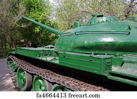 Free art print of WWII M4 Sherman Tank