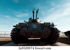 Free World War Ii Us Tank Art Prints and Wall Artwork | FreeArt