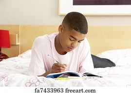 art-prints-teen-boy-having