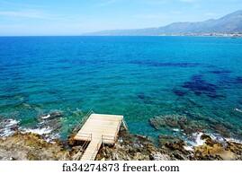 Free Art Print Of Elafonisos Beach Crete Island