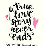Free True Love Never Ends Art Prints And Wall Artwork Freeart