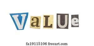 Free art print of contest cutout newspaper letters contest words value cutout newspaper letters spiritdancerdesigns Gallery
