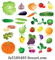 photograph regarding Printable Pictures of Fruit and Vegetables titled Absolutely free Fruit Veggies Artwork Prints and Wall Art FreeArt